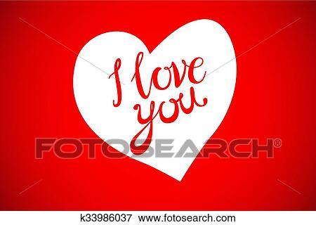 Clip Art Of Vector Happy Valentines Day Beautiful Watercolor Hearts