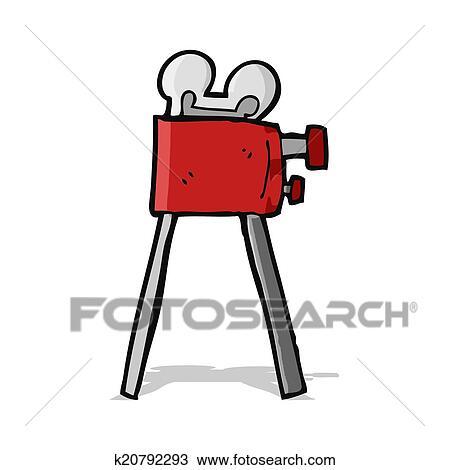 Dessin Anime Camera Clipart K20792293 Fotosearch