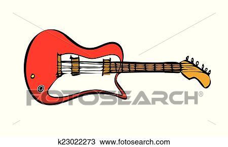 Clipart - elektrische gitarre k23022273 - Suche Clip Art ...