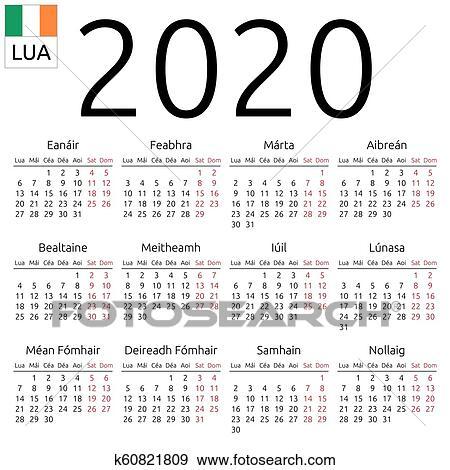 Uke kalender 2020