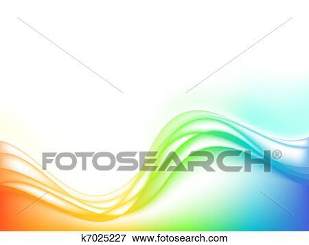 Clipart Stylise Eau Vagues Vecteur K7025227 Recherchez Des