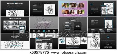 Minimal Presentations Portfolio Templates Simple Elements