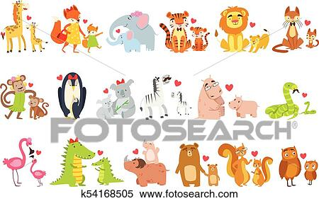 Animal Camouflage Clipart {Creative Clips Clipart} | TpT