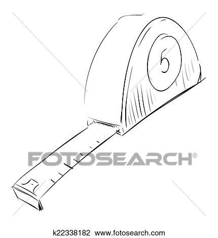 Clipart - bandmaß, meter, symbol k22338182 - Suche Clip Art ...
