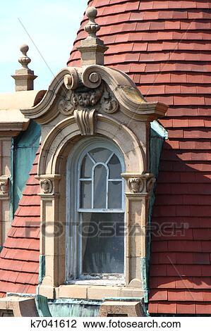 032dc965 Arkivfoto - utvendig, viktoriansk, slott, vindu. Fotosearch - Søk  arkivfotografi, utskriftsbilder