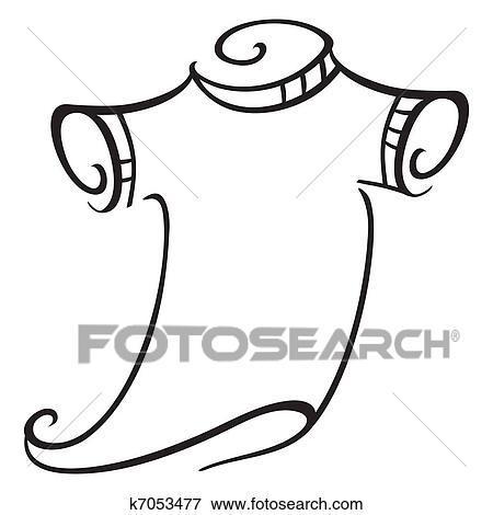 T Shirt Clip Art K7053477