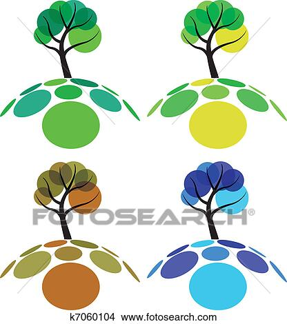clipart of tree four seasons k7060104 search clip art rh fotosearch com seasons clip art images season clipart