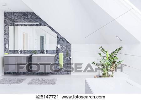 Moderno, cuarto de baño, diseño Colección de imágen ...