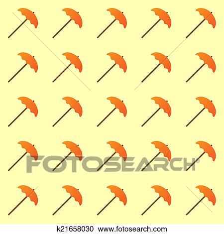image about Umbrella Pattern Printable identified as Umbrella habit print. Clipart