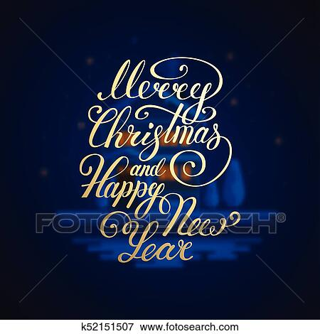 Happy New Year Lettering Design 73