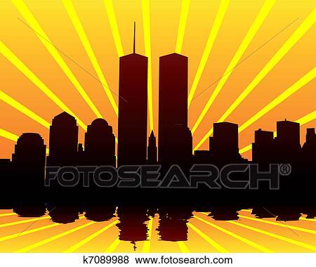 towers twins clip art rh fotosearch com petronas twin towers malaysia clipart free twin towers clipart