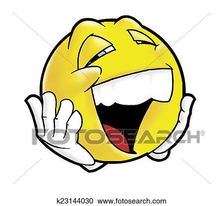 Stock Illustrationen Lachender Smiley K23144030 Suche Clipart