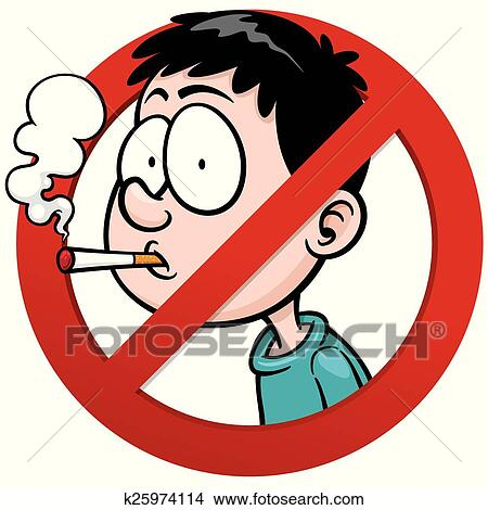 clipart of no smoking k25974114 search clip art illustration rh fotosearch com no smoking clipart black and white no smoking logo clipart
