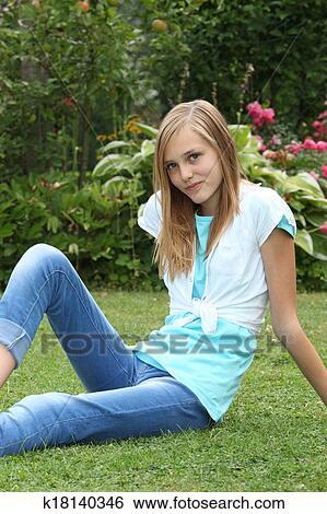 Heiße Bilder von Teenager-Mädchen