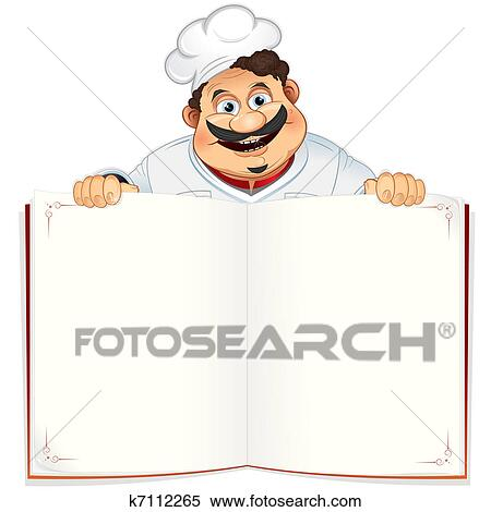 Clipart Of Recipe Book K7112265