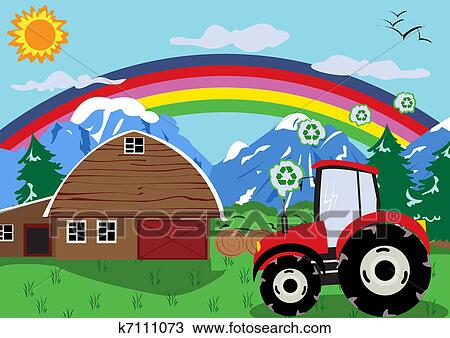clipart of tractor wheel k7111073 search clip art illustration