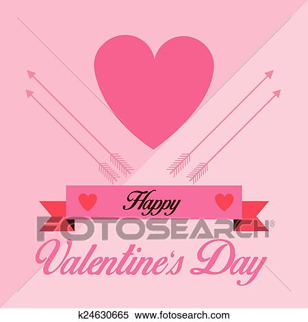 Clipart Of Happy Valentine S Day K24630665 Search Clip Art