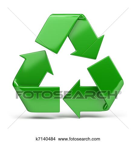 Drawings Of Recycling Symbol K7140484 Search Clip Art