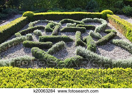 Topiary Landscaping Picture K20063284 Fotosearch
