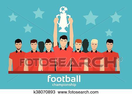 Clipart - equipe futebol 5df2c4e1f54a3