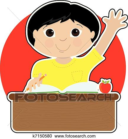 clipart of little boy at school asian k7150580 search clip art rh fotosearch com asian clipart free asian clipart black and white