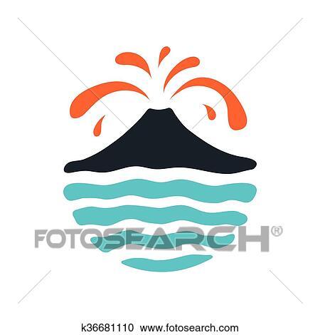 Volcano Lava Animation Clip Art, PNG, 7520x5343px, Volcano, Animation, Art,  Beak, Bird Download Free