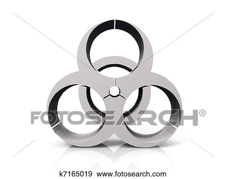 Stock Illustration Of Biohazard Symbol K7165019 Search Vector