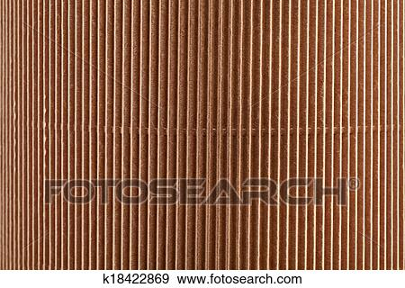 Stock Illustration - braun, karton, papier, hintergrund k18422869 ...