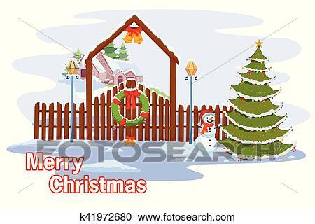 Souhaiter Joyeux Noel.Bonhomme De Neige Souhaiter Joyeux Noel Clipart