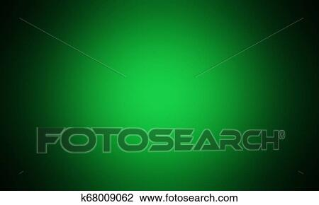 Abstract Light Green Gradient Background Light Effect