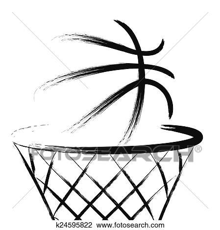 Basketball Clipart | k24595822 | Fotosearch
