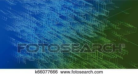 Abstract Color Background With Lines Abstract Fluid