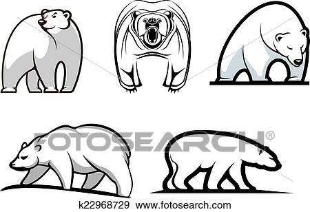 Polar bear cubs clipart Cartoon waving polar bear cub clipart vector search  illustration   Ayn.holliefindlaymusic.com