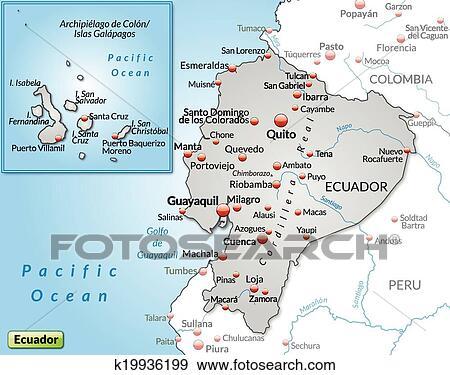 Clip art of map of ecuador k19936199 search clipart illustration clip art map of ecuador fotosearch search clipart illustration posters drawings publicscrutiny Choice Image