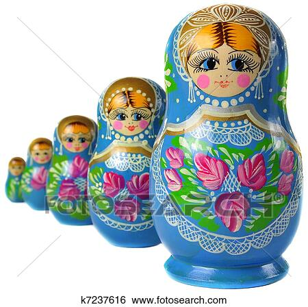 Matrioska, bambola russa Archivio fotografico   k7237616   Fotosearch
