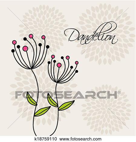 花 デザイン クリップアート切り張りイラスト絵画集