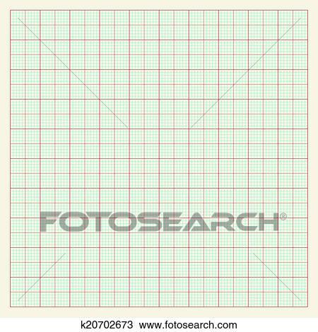Papier Millimétré Fond Clipart