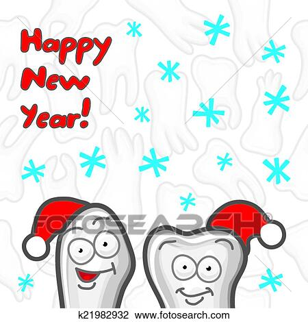 Happy New Year Greeting Card 75