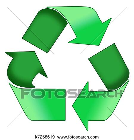 green recycle symbol  Stock Photo  design36 126582004