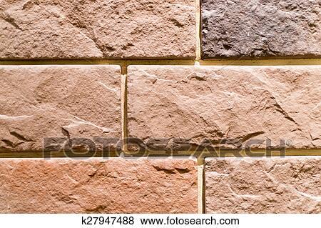 Images - faux, mur brique k27947488 - Recherchez des Photos, des ...
