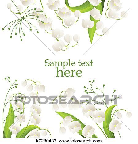春 フレーム クリップアート K7280437 Fotosearch