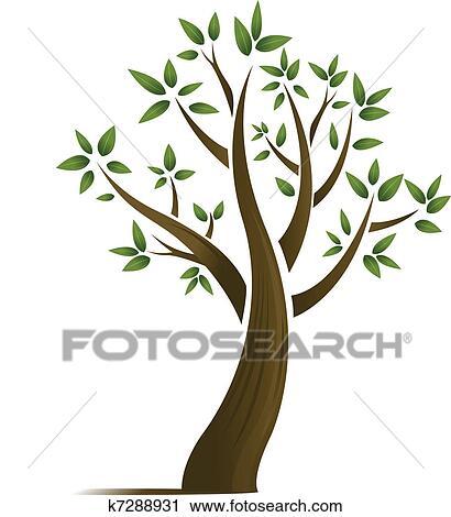 Clipart Abstratos árvore Desenho K7288931 Busca De Ilustrações