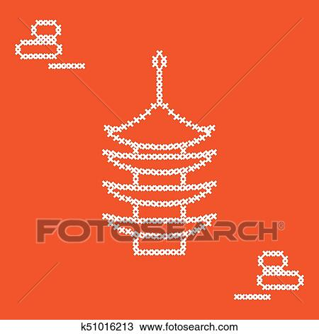 simple chinese embroidery designs - Clip Art Library