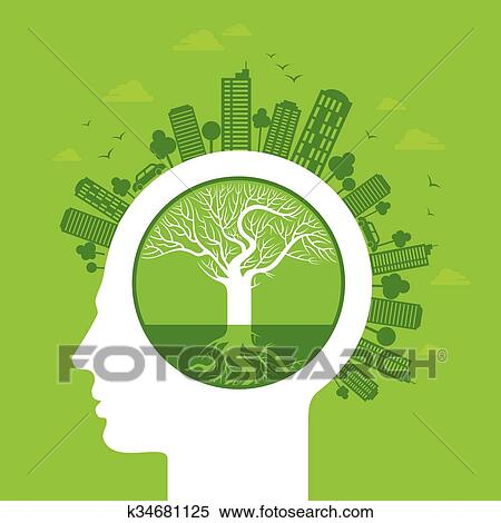 Eco Friendly Concept Clipart K34681125 Fotosearch