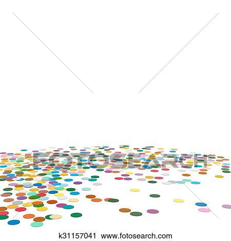 clipart of confetti background template chads backdrop k31157041