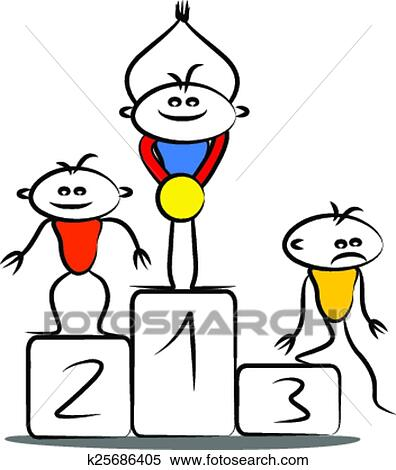 clipart of winning podium k25686405 search clip art illustration rh fotosearch com clipart podium olympique podium image clipart