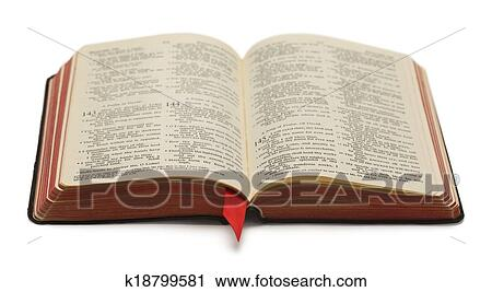 Banco De Fotografías Biblia Abierta K18799581 Buscar Fotos E