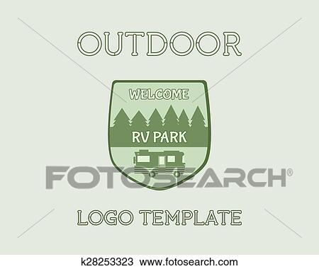 Camping tent icon vector isolated on