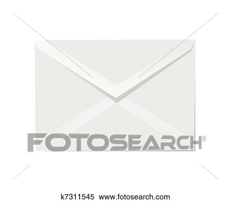 Clipart Of Letter Envelope K7311545 Search Clip Art Illustration