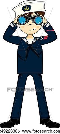 Navy Sailor Clip Art